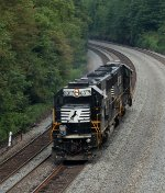 NS 6317 at Mile 255 Pittsburgh Line